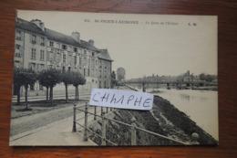 SAINT OUEN L AUMONE - LE QUAI DE L ECLUSE - HOTEL DU GRAND CERF - Saint-Ouen-l'Aumône