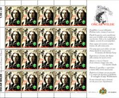 92179) SAN MARINO- 1,50 €-Oscar Wilde- Personaggi Della Letteratura - 20 Agosto 2004-IN MINIFOGLIO-MNH** - Blocs-feuillets