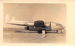 "08798 ""AEROP. ASMARA ERITREA - FAIRCHILD C-119 FLYING BOXCARD 12544 US AIR FORCE"" ANIMATA FOTO ORIG. - Aviazione"