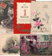 Lot De 20 Cartes Postales CPA Sur Le 1er Avril  ( Poisson ) - 5 - 99 Cartes