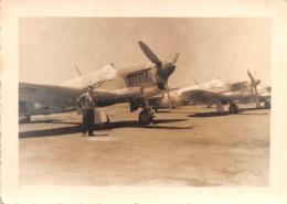 "08799 ""AEROP. ASMARA ERITREA - VELIVOLI DA CACCIA"" ANIMATA FOTO ORIG. - Aviazione"