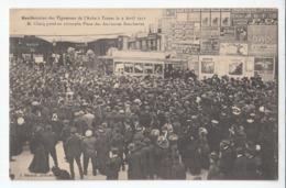 10 TROYES Manifestation Des Vignerons  De L'aube Avril 1911 Place Des Anciennes Boucheries - Troyes