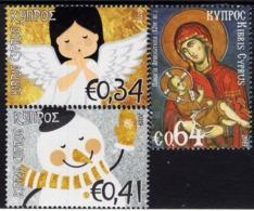 Cyprus - 2019 - Christmas - Mint Stamp Set - Nuevos
