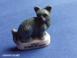 Fèves Fève Les Chats De Race Chat Mat Burmese Brun*322* - Animales