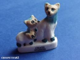 Fèves Fève Les Chats De Race Chat  Siamois*322* - Animales