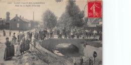 CPA SAINT-VAAST-EN-CAMBRESIS - Pont De La Route D' Haussy - France