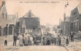 CPA SAINT-VAAST-EN-CAMBRESIS - Grande Rue - Autres Communes