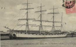 """LA ROCHELLE PALLICE  Quatre Mats """"Le Cap Horn"""" RV - La Rochelle"""