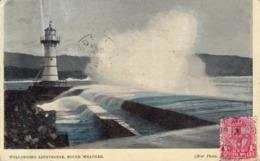 309/ Wollongong Lighthouse, Rough Weather, Star Photo - Wollongong