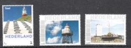 Nederland  Persoonlijke Zegel: Vuurtoren, Lighthouse: Texel + Kijkduin + Katwijk - Neufs
