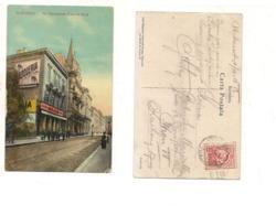 FB155 POSTCARD ROMANIA BUCURESTI BUCAREST 1914 Stamp - Romania