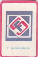 Carte Foot-ball Shoot Miroir-Sprint - Ecusson Club France - N°89 Stade Français Football-Club - Trading Cards