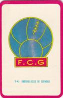 Carte Foot-ball Shoot Miroir-Sprint - Ecusson Club France - N°94 Football-Club De Grenoble - Trading Cards