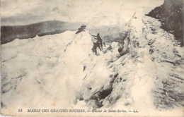 74 Haute SAVOIE Alpinistes Aux Glacier De St Sorlin Dans Le Massif Des Grandes Rousses - Otros Municipios