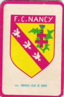 Carte Foot-ball Shoot Miroir-Sprint - Ecusson Club France - N°103 Football-Club De Nancy - Trading Cards