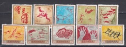 Spain 1967 - Peintures Rupestres Diverses, YT 1432/41, Neufs** - 1931-Today: 2nd Rep - ... Juan Carlos I