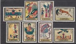 Spain 1975 - Miniatures D'anciens Manuscrits, YT 1930/37, Neufs** - 1931-Today: 2nd Rep - ... Juan Carlos I