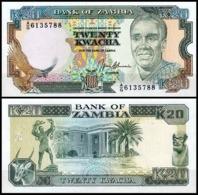 Zambia - 20 Kwacha 1989 - 91 UNC - Zambia