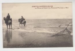 Oostduinkerke   La Pêche De Crevettes  Premiers Pas Dans La Mer  Edition E Decrop-Debaever - Oostduinkerke