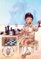 MAXIMUM 1991 CHESS ROMANIA (NOV190023) - Scacchi