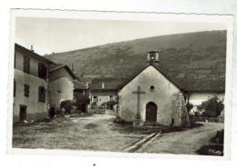 CHEVIGNAT / COURMANGOUX (près Coligny) La Place Et La Chapelle- Circulée Format 9x14- Bon état - Autres Communes