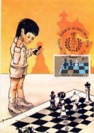 MAXIMUM 1991 CHESS ROMANIA (NOV190024) - Scacchi