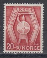 Norway 1943 - Frontkaempfer, Mi-Nr. 291, MNH** - Norvegia