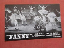 Fanny Broadway's Biggest Musical   Ref 3735 - Music And Musicians