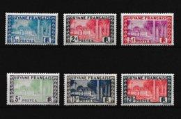Guyane   1929 A 1938 Neuf **  Valeur 9.20 Euros - Ungebraucht