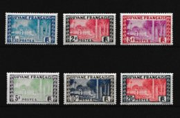 Guyane   1929 A 1938 Neuf **  Valeur 9.20 Euros - Nuovi