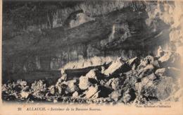 CPA ALLAUCH - Intérieur De La Baoume Sourne - Allauch
