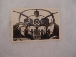 Photo Originale Avion Aviation Poste De Pilotage Siebel - Aviazione
