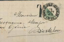 Leopoldsburg Ist Eine Gemeinde In Der Belgischen Provinz Limburg - Bourg Leopold Beverloo Halbierung - 1893-1900 Thin Beard
