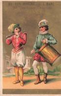 Chromo Pub Publicité Au Bon Marché J. Marc 57 Rue Royale Mantes Papeterie Jouets Enfants , Tambour Et Flutes Henri 4 - Au Bon Marché