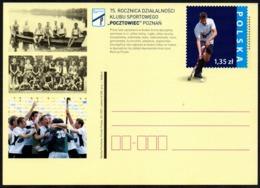 "POLAND 2007 - 75th YEARS OF THE SPORTS CLUB'S ACTIVITY ""POCZTOWIEC"" POZNAN - FIELD HOCKEY / ROWING - POSTAL STATIONARY - Hockey (su Erba)"