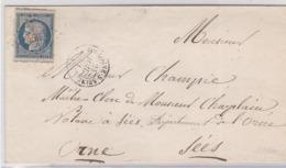 LSC - N°4 0BL. PC De BOULOGNE-S/SEINE (2 Voisins + Découpage !) - Marcophilie (Lettres)