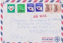 Corée, Koréa, Lettre Pour  L'Embassade De Belgique. - Corée Du Sud