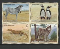 NATIONS UNIES (Vienne) 1993-98 YT N° 159 à 162 ** - Unused Stamps