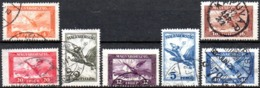 Hongrie: Yvert N° A 12/23°; 7 Valeurs - Airmail