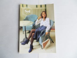 CPM Publicitaire Mode Femme SOI Paris Recto Recto La Vénus De Botticeli - Moda