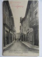 Cpa, Trés Belle Vue Animée, BOLLENE, La Grande Rue - Autres Communes