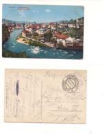 FB178 POSTCARD JUGOSLAVIA BOSNIA SARAJEVO FELDPOST FRANCHIGIA 1914 WW1 - Bosnia Erzegovina