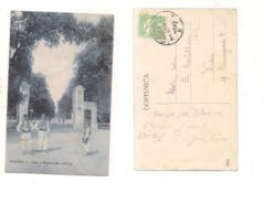 FB179 POSTCARD CROAZIA ZAGREB 1914 MAGYAR POSTA STAMP - Croazia