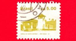 BRASILE - Usato - 1986 - Chiesa Di S. Antonio A S. Rocco - Brazilian Heritage -  5 - Gebruikt
