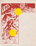 Buvard En 1954  / 1er Mai / Signé Guy S. - Löschblätter, Heftumschläge
