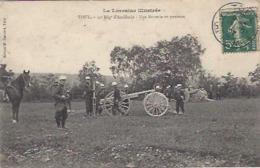 54 TOUL 19 EME REGIMENT D ARTILLERIE UNE BATTERIE EN POSITION LA LORRAINE ILLUSTREE GUERRE 1914 1918 - Guerra 1914-18