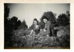 LEMPDES HAUTE LOIRE 1948   PHOTO ORIGINALE  1951 FORMAT  11.50 X  7 CM - Lieux