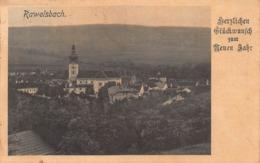 RAVELSBACH AUSTRIA~HERZLICHEN GLUCKWUN Zum NEUEN JAHR PHOTO POSTCARD 42483 - Österreich