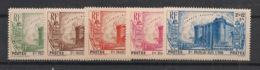 Inde - 1939 - N°Yv. 118 à 122 - Révolution - Série Complète - Neuf Luxe ** / MNH / Postfrisch - India (1892-1954)