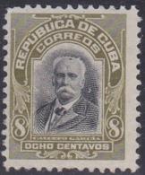 Cuba, Scott #251, Mint Hinged, Calixto Garcia, Issued 1911 - Kuba